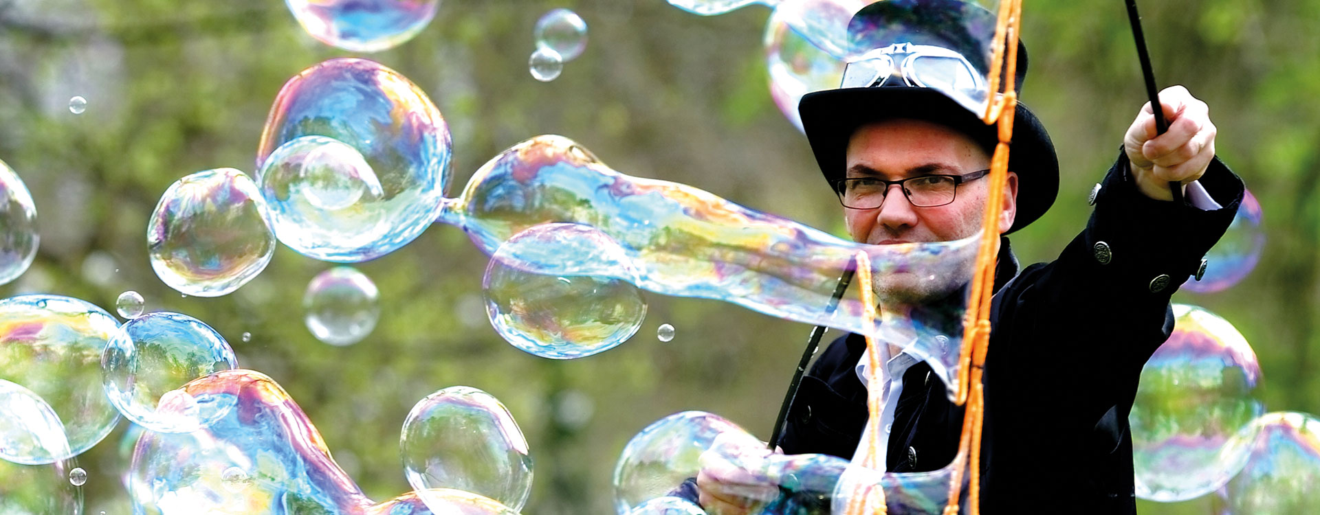bulles geantes
