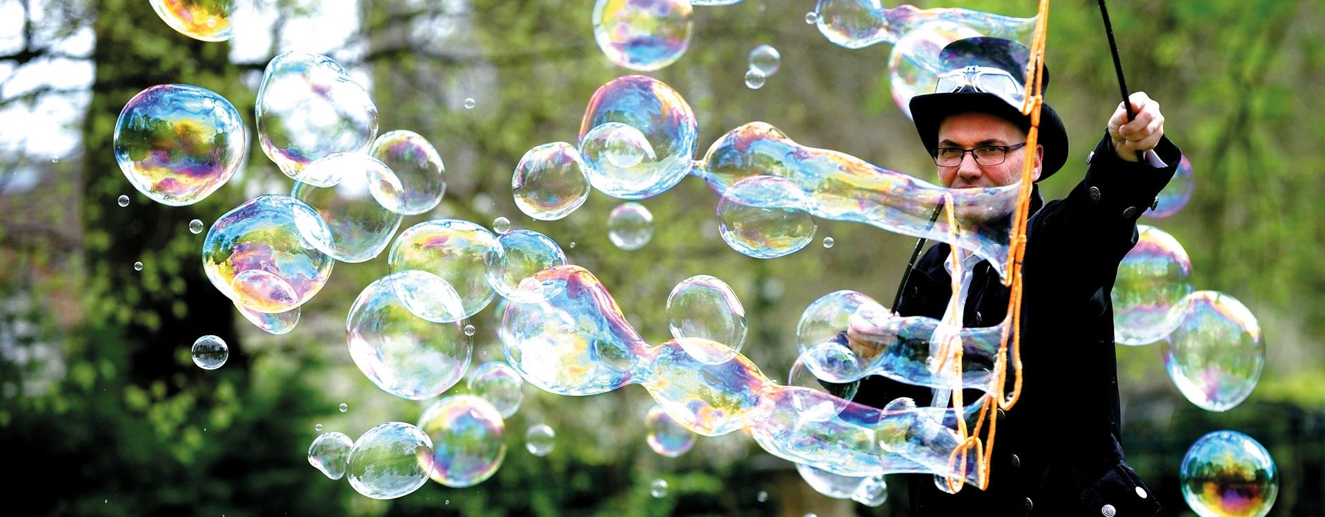 animations belles bulles de savons
