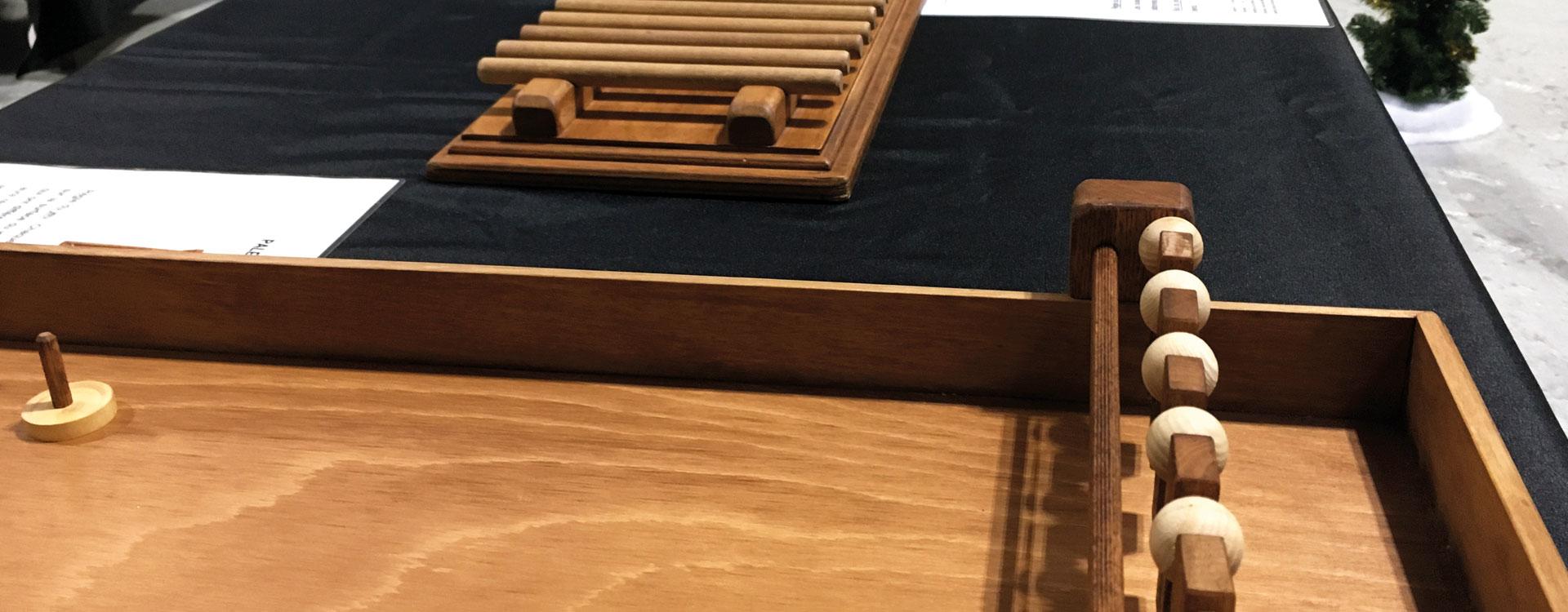 animations jeux en bois arbre de noel